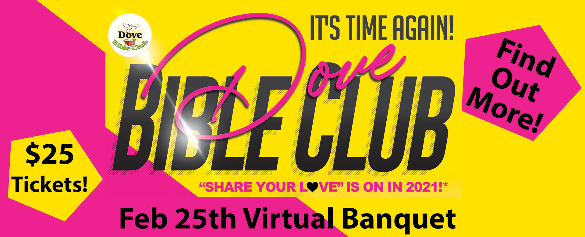 Dove Bible Club Virtual Banquet